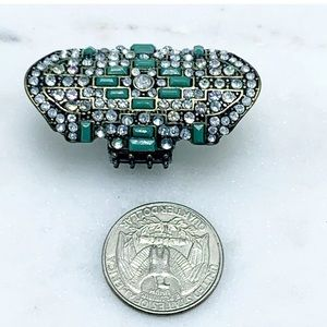 Vintage Jewelry - Art Deco statement cocktail ring